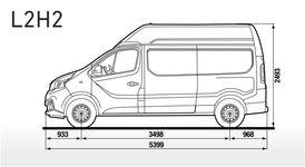 Fiat Talento Kastenwagen Skizze