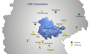 LNG Tankstellen