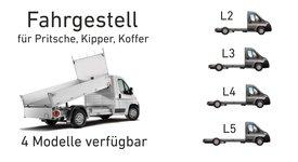 Fiat E-Ducato der Elektro Kipper/Pritsche/Koffer