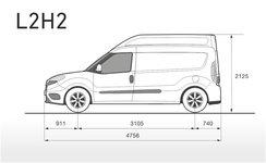 Fiat Doblo Skizze