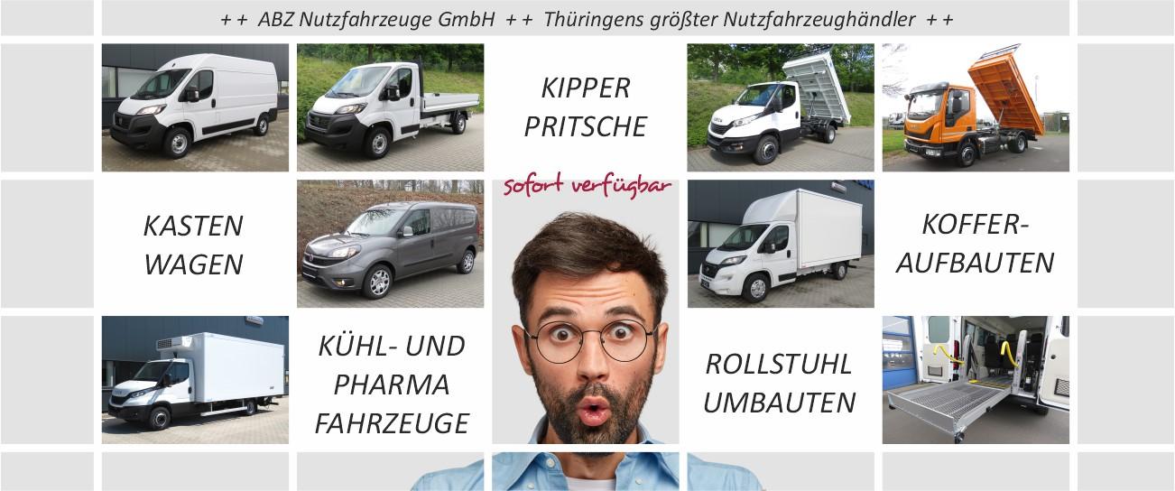 Nutzfahrzeuge-Transporter-Kastenwagen-LKW-Vielfalt von ABZ