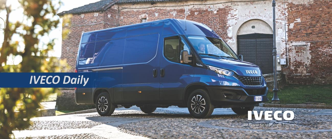 Iveco Nutzfahrzeuge, Iveco Daily, Kastenwagen, Transporter