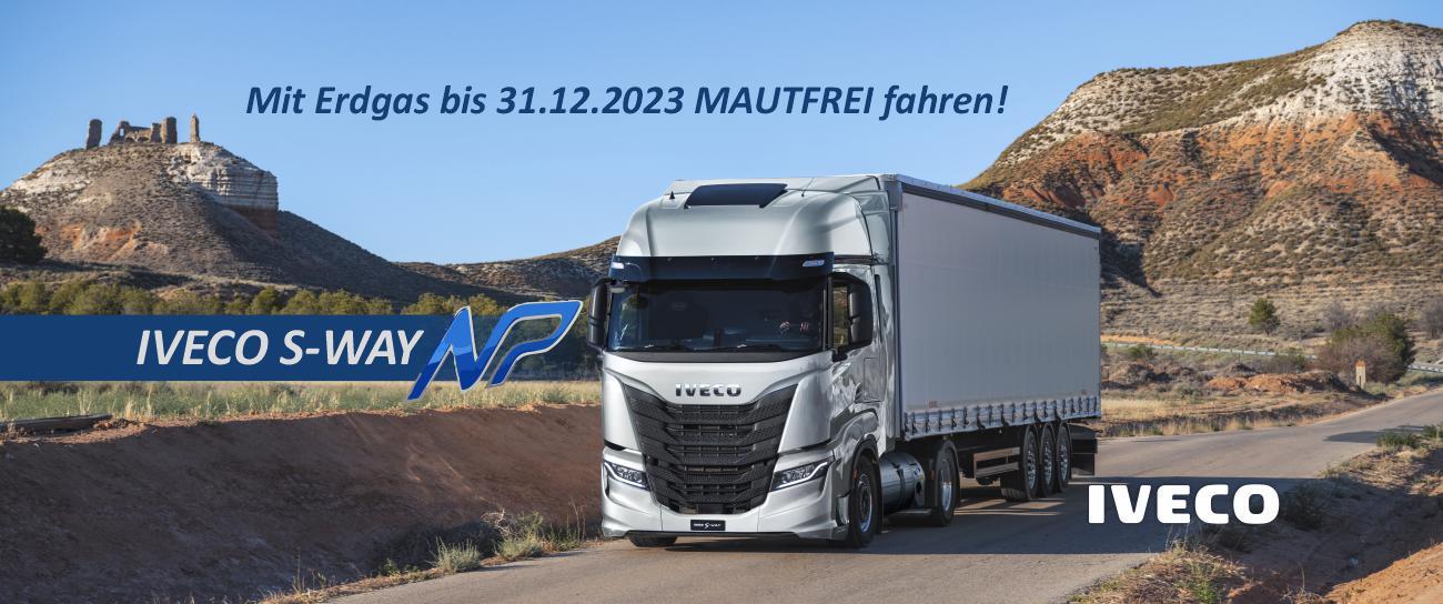 Mautfrei bis 2023 mit dem Iveco S-Way NP