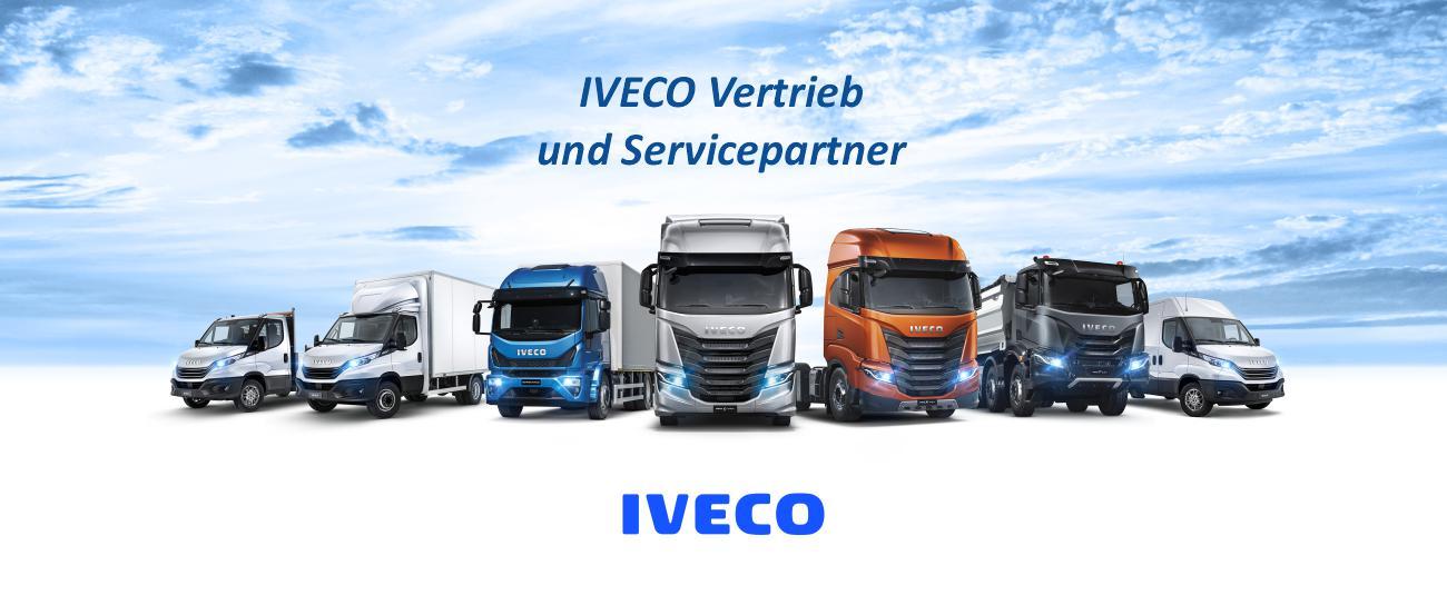 Iveco Händler, Transporter, Kastenwagen, Pritsche, Kipper