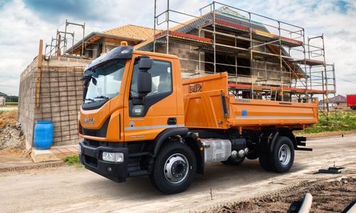Iveco Eurocargo Baufahrzeug