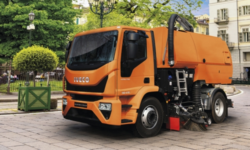 Iveco Eurocargo - kommunale Straßenreinigung