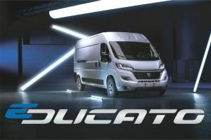 Fiat Professional E-Ducato - der elektrische Transporter